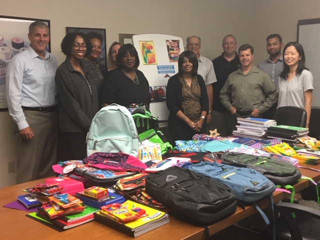 Dynaxys Staff Support Annual Back-to-School Supplies Drive Initiatives